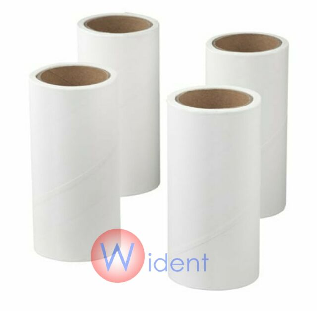 IKEA Lint Roller Refills BASTIS Pack of 4 Replacement Rolls Cleaner Remover