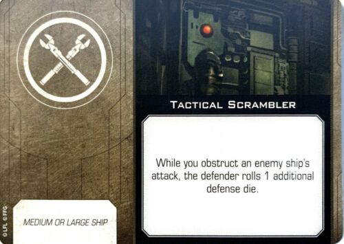 X-Wing 2.0 Modification Upgrade Cards