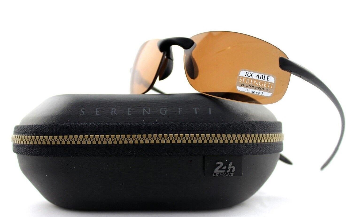 79383c1776 Polarized Serengeti NUVOLA Le Mans 24h Satin Black PhD Drivers ...