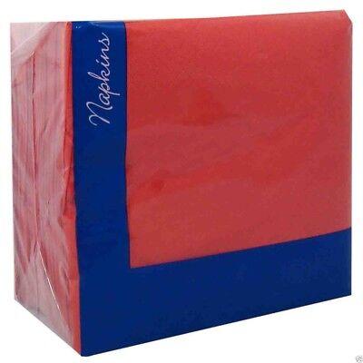 2000 burgundy red 33cm Paper Napkins Serviettes Birthday Wedding Party Catering