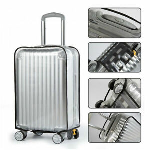 Clear-PVC-Plastic-Travel-Luggage-Cover-Suitcase-Protector-Size-20-22-24-26-28-30