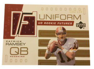 2002-Upper-Deck-Rookie-Futures-Jersey-Gold-RFPR-Patrick-Ramsey-Redskins-150