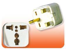 Universal US USA EU To UK British Plug Adapter Type G For England Ireland Africa
