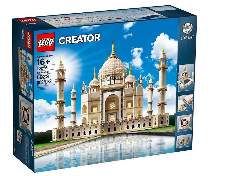 Lego Creator 10256 Taj Mahal Nuovo and Sealed