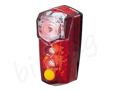 Flashing LED Waterproof Topeak RedLite Mega 0.5W LED Bike Rear Safety Light