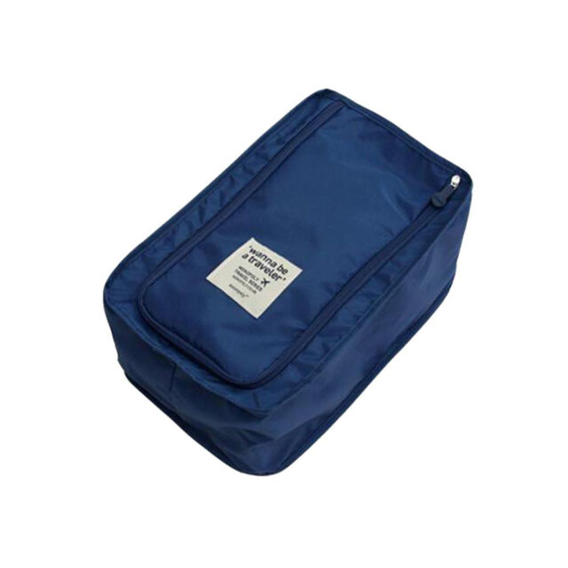 Portable Travel Outdoor Waterproof Tote Pouch Shoes Storage Zip Bag Organizer NT