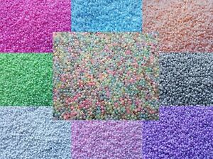 3000-Pastel-Pearl-Glass-Seed-Beads-Size-11-0-2mm-50g-For-Jewellery-BUY-4-FOR-3