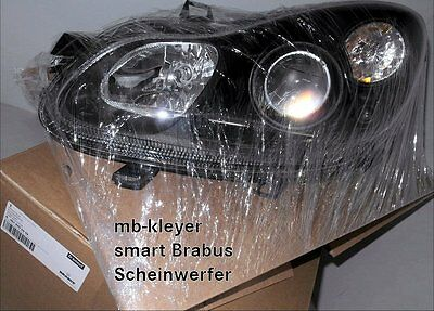 smart original scheinwerfer fortwo 451 brabus xclusive ebay. Black Bedroom Furniture Sets. Home Design Ideas