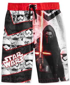NWT Star Wars BB-8 Boys Board Shorts Swim Trunks Swimsuit 5-6