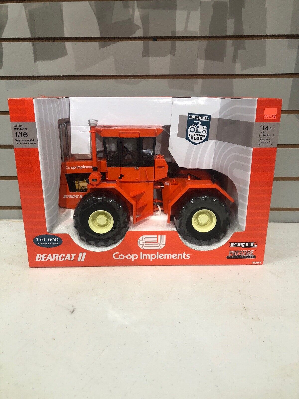 1 16 Co-op Bearcat ll Tractor 1 Of 500 Made. By Ertl