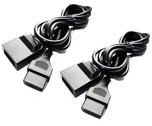 2-x-Extension-Cable-for-SNK-Neo-Geo-AES-MVS-Controller-Joystick-Gamepad-Lead-UK