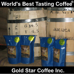 2-DARK-ROAST-2-CITY-Roast-4-lb-Jamaica-Jamaican-Blue-Mountain-Coffee