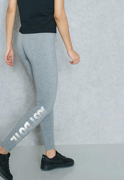 72569eec9c1ee Womens Nike NSW Hologram Leggings Size L (886257 091) Grey for sale online    eBay