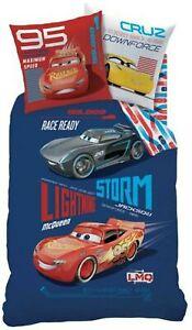 Bettwaesche-Disney-Cars-Generation-140-x-200-cm-70-x-90-cm-blau