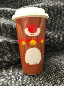 Details About Deluxe Costa Coffee Reindeer Rudolph Cup Christmas Edition Work Hot Chocolate