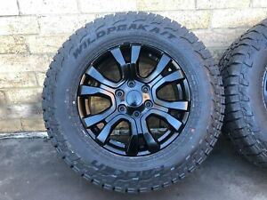 4x-NEW-GENUINE-FORD-RANGER-WILDTRAK-2019-18-034-ALLOYS-amp-FALKEN-AT-TYRES-BT50