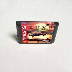 Dune: The Battle For Arrakis (1994) 16 bit Game Card Sega Genesis / Mega Drive