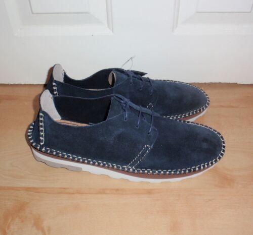 pelle Dakin Clarks in casual Walk blu scamosciata Bnib stringate Scarpe Mens 08R4x4