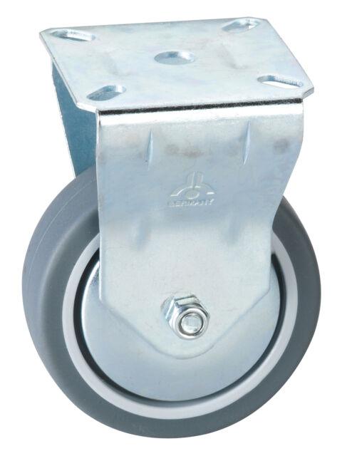 (3,28€/1Stk) Apparate Bockrolle 75 x 25 mm Platte 60 x 67 mm - Tragkraft 50 kg