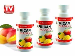 3x Original African Mango Extreme 6000 Fatburner Diat Pillen