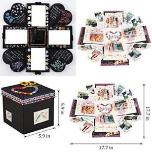 Image Is Loading DIY Photo Album Love Memory Gift Box