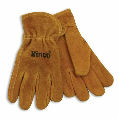 Kinco 50-Y Youth/'s Suede Cowhide Leather Driver Gloves