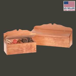 Wooded Colonial Style Letter Box/Candle Box | Renovator's Supply