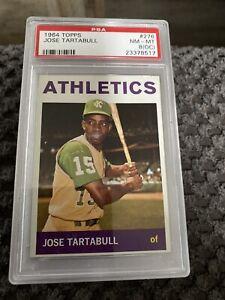 1964-TOPPS-276-JOSE-TARTABULL-OAKLAND-ATHLETICS-PSA-8-NM-MT