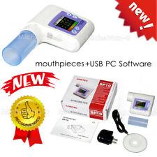 New Type Spirometer Handheld Digital Lung Check Pulmonary Monitor Usb Pc Sw