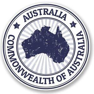 2 x Australia Vinyl Sticker Laptop Travel Luggage #4492