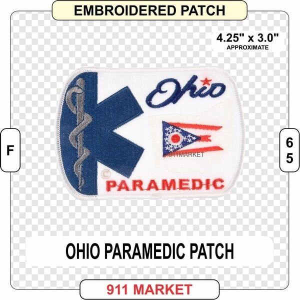 California Paramedic Patch EMS CA State Rescue FD Medic EMT Ambulance FD F 119