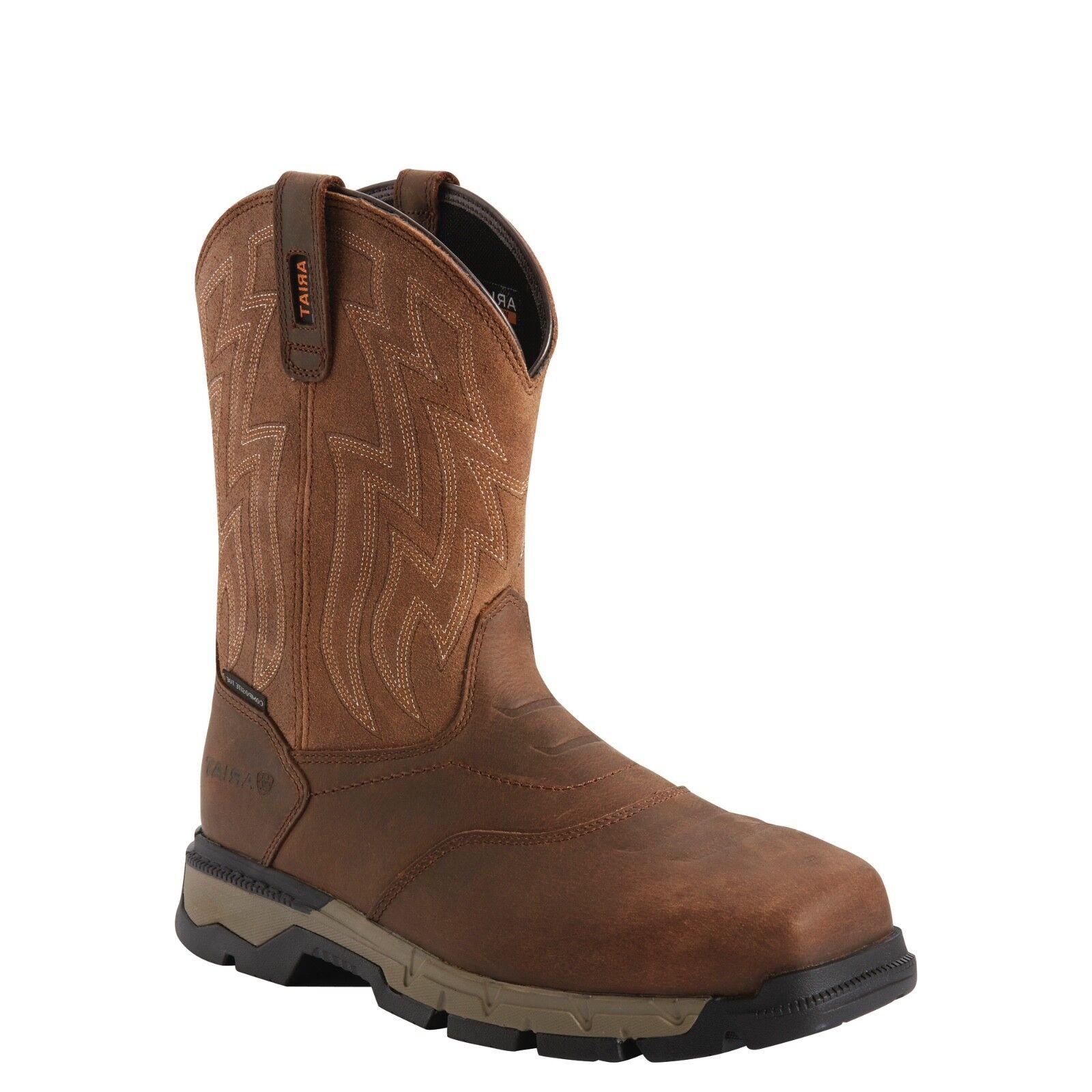Ariat® Men's Rebar™ Flex Square Composite Toe Work Boots 10027320