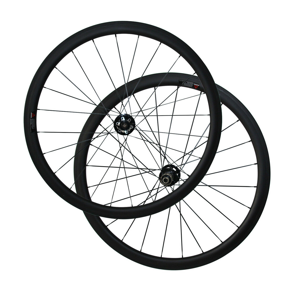 Cyclocross Bike Wheelset with Novatec D791SB D792SB 38mm Tubular 23mm Width