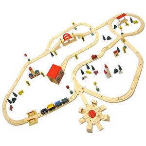 Holzeisenbahn-Set-230x130-cm-Holz-Eisenbahn-kompatibel-zu-Brio-Eichhorn-Ikea-uvm
