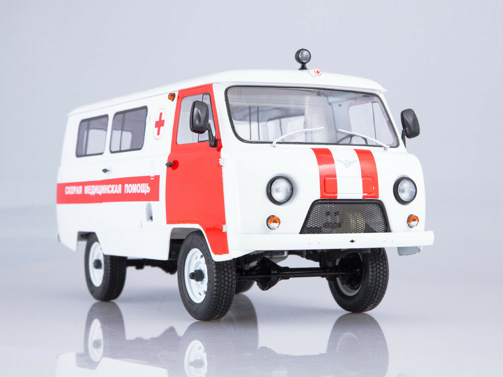Start Scale Models (SSM)  1 18. uaz-3962 ambulance.  acheter 100% de qualité authentique