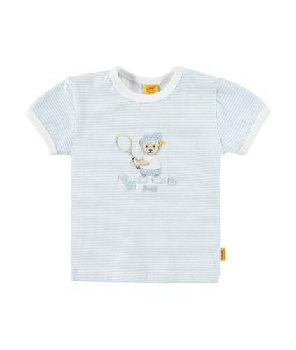 STEIFF Newborn Little Star Tennis Shirt hellblau  Gr 56-86 NEU