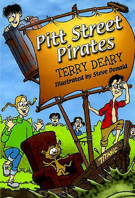 """VERY GOOD"" Deary, Terry, Pitt Street Pirates, Book"