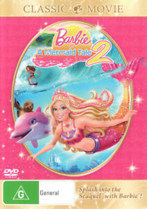 Barbie-A-Mermaid-Tale-2-NEW-DVD-Region-4-Australia