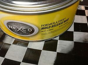 Details about Fiberglass Mold Release Wax Paste - 12oz can--- Free Shipping