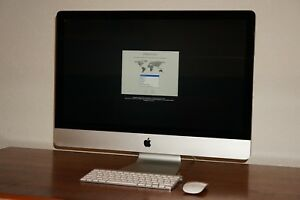 "1 Tb Hdd 27"" Intel Quad-core I5 2,7 Ghz 16 Gb Ram Apple Imac Convenient To Cook"