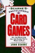 Scarne's Encyclopedia of Card Games - LikeNew - Scarne, John - Paperback
