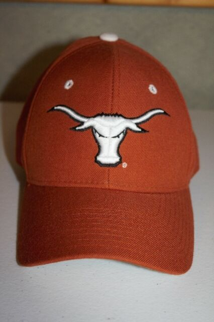 official photos 587d1 ed95b Texas Longhorns Zephyr Baseball Cap Hat The Z Hat Fitted 6 7 8 Orange NCAA