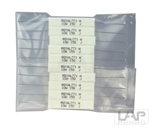 2,2-47 Ohm 10 Watt 5/% Zementwiderstand Resistor 10W Cement Resistors