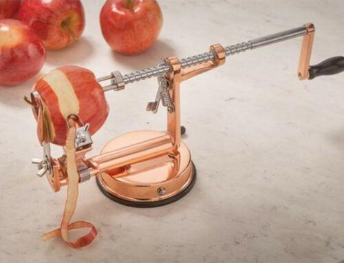 Victorian Trading Co Rose Gold or Copper Countertop Crank Apple Peeler
