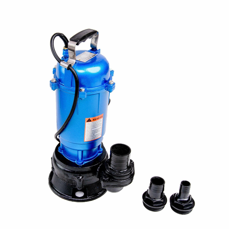 Fäkalienpumpe Wasserpumpe 550W M Schwimmschalter 0,55 kW +C Kupplung Gartenpumpe