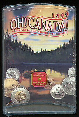 Canada 2003 Uncirculated 7 Coin Mint Set Free Shipping!