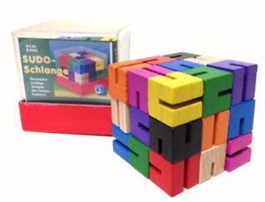 Sudo-Schlange-Spielzeug-Farben-Sudoku-Raetsel-Geduldsspiel-Kinder-Spielen-Lernen