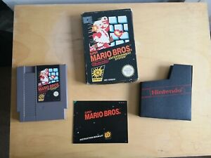 [ORIGINAL] SUPER MARIO BROS. NES - BOXED w/ ORIGINAL GAME MANUAL