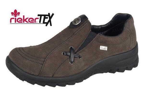 Rieker zapatos señora zapatos mocasines con rieker-Tex rieker-Tex rieker-Tex l7174-55, talla 37-41 +++ nuevo + +  están haciendo actividades de descuento