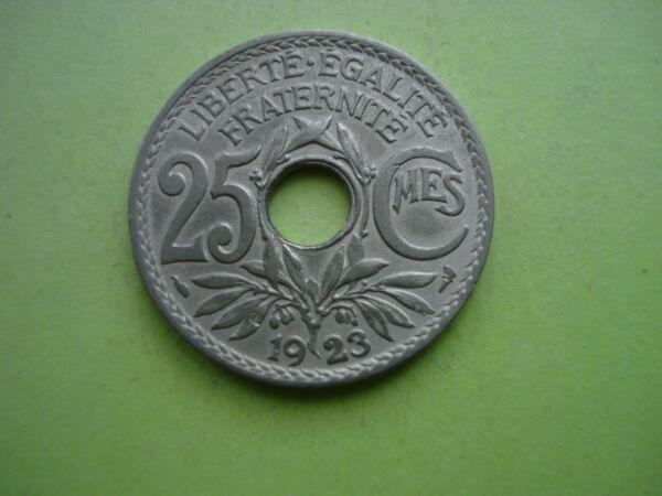 2019 DernièRe Conception Ancienne Pièce De Monnaie 25 Cts Lindauer 1923 état Ttb Port Gratuit (b70)